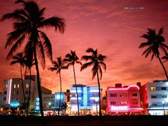 Miami Beach is a strip of miles of fine golden sand with emerald waters. People flock to Miami for business, sun, sand, beaches, and entertainment - this place really rocks! Get there non-stop from ORF on American Airlines.