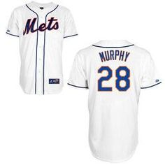 Daniel Murphy NY Mets Replica Adult White Alt Jersey