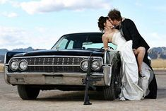 we could have our wedding shots done in and in front of the corvette