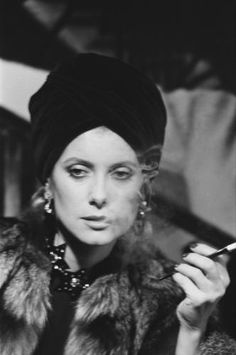 catherine deneuve by marina cicogna