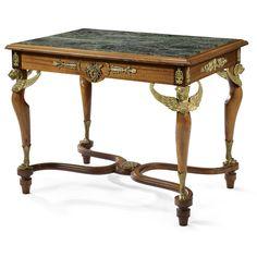 A 'deuxième empire' mahogany and gilt-bronze furniture suite<br>circa 1860   Lot   Sotheby's