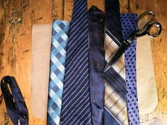 How To Make a Tote Bag Out of Upcycled Neckties : Home Improvement : DIY Network