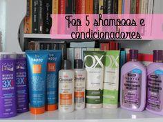 Top 5 shampoos e condicionadores