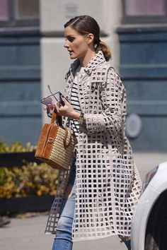 Olivia Palermo: Out and about in New York City - April 2018