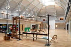 Dovecot tapestry weaving studio, Edinburgh.. I love this!!! A space to weave and create art.