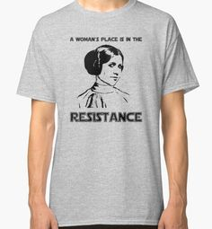 Carrie Fisher Princess Leia Star Wars Tee Shirt // A by HumaniTeez