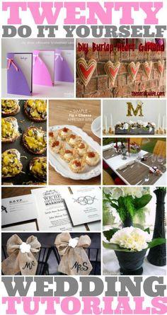 20 DIY Wedding Decor Tutorials — The Coupon Project