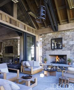 Must-See outdoor fireplace design ideas as seen in камин, Porch Fireplace, Outdoor Fireplace Designs, Concrete Fireplace, Outdoor Fireplaces, Fireplace Ideas, Modern Fireplaces, Fireplace Mantels, Southwest Style, Barndominium