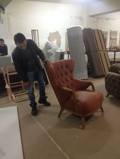 Leather Furniture, Sofa Furniture, Luxury Furniture, Lounge Sofa, Sofa Chair, Family Wall Decor, High Back Chairs, Wing Chair, Furniture Manufacturers