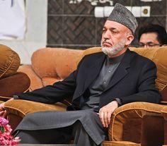 Afghan President Hamid Karzai [U.S. Marine Corps (Mallory VanderSchans)]
