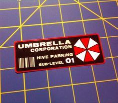 Umbrella Corporation Hive Sub-Level Parking by DiscordiaMerch