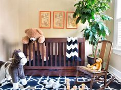 - Create a Classic Neutral Nursery on HGTV If you don't know the gender of your baby on the way, or just aren't a fan of pink/blue, here is a great idea for your babies nursery