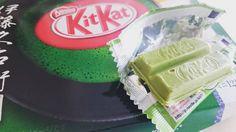 Kitkat de matcha! #ñam  Gracias @alacarta y @javiermateos!