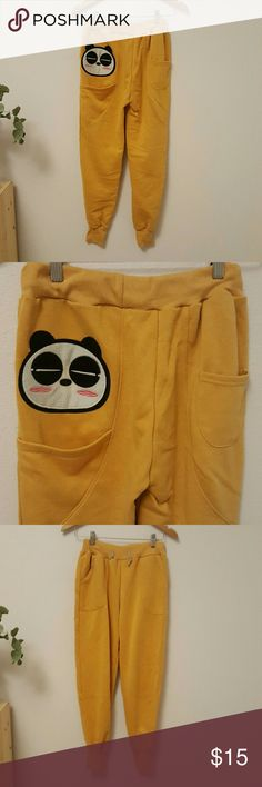 Selling this Cute Panda Sweatpants on Poshmark! My username is: canne12. #shopmycloset #poshmark #fashion #shopping #style #forsale #Pants