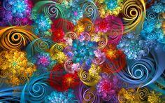 Spirals and Curlicues by wolfepaw.deviantart.com on @DeviantArt