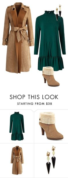 """""""Untitled #1291"""" by dora-caeiro ❤ liked on Polyvore featuring Traffic People, Anne Klein, Chicwish and Alexis Bittar"""