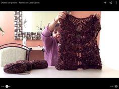▶ Chaleco con granizos - Tejiendo con Laura Cepeda - YouTube
