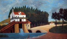 The Mill  - Henri Rousseau