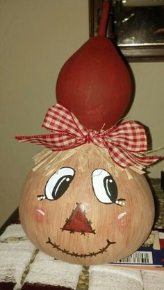 Another scarecrow gourd