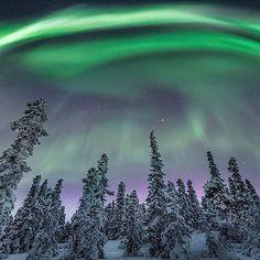 ☆☽ Ꭿմɽσɽą ᙖσɽҽąℓᎥʂ & Ƭɦҽ ♑Ꭵɠɦ৳ Ꮥƙƴ ☾☆ ~ Looking up at the Northern Lights from Fairbanks, Alaska