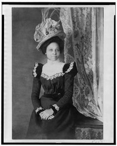 Victorian Women in America   Young African American woman, three-quarter length portrait, facing ...