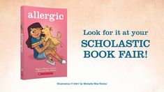 Allergic by Megan Wagner Lloyd, Illustrated by Michelle Mee Nutter | Boo... Book Trailers, Illustration, Illustrations