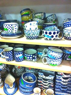 Before moving to Germany, I hadn't really heard about Polish pottery.  Once I came to Germany, I heard plenty.  People, and by people, I me...