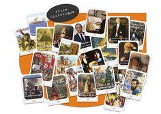 Histoire C3 : Jeu de Cartes Frise pour Historique