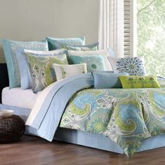 Echo Design™ Sardinia Reversible Comforter Set - BedBathandBeyond.com