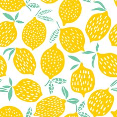 Summer design royalty-free lemon seamless pattern vector illustration summer design stock vector art & more images of lemon - fruit illustration Lemon seamless pattern vector illustration. Abstract Illustration, Illustration Design Graphique, Fruit Illustration, Pattern Illustration, Design Textile, Design Floral, Design Design, Boho Pattern, Pattern Art