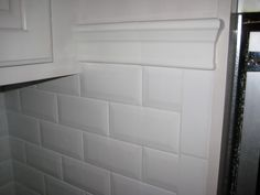 how to finish the side of a subway tile shower Google Search