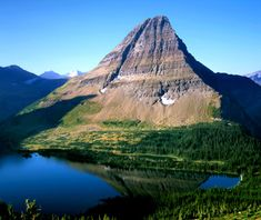 Glacier National Park in Montana is as spectacular for the scenery as it is for the wildlife. More of a hiking park than a driving park.