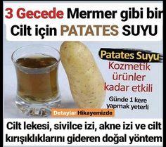 Patates Maskesinin Cilde Faydaları – Diyet Yemekleri – Las recetas más prácticas y fáciles Beauty Care, Beauty Hacks, Natural Acne Treatment, Stay Young, Natural Health Remedies, Homemade Beauty Products, 2 Ingredients, How To Lose Weight Fast, Health And Wellness