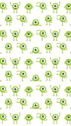 Fondo de pantalla de Mike, de Monstruos University / a wallpaper of Mike, of Monsters University