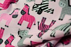 Robert Kaufman /  Zebra von stoffe-marken  auf DaWanda.com
