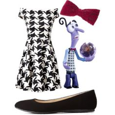 """""""Fear"""" Inspired outfit -Disney Pixar's """"Inside Out"""""""