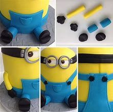 Image result for Minion Cupcakes Steps