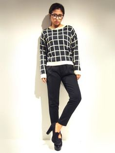 FLOVE マス目NT PO / Knit Top on ShopStyle