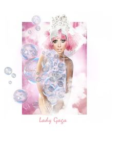 """""""bubble gaga"""" by tabithasue ❤ liked on Polyvore featuring art"""