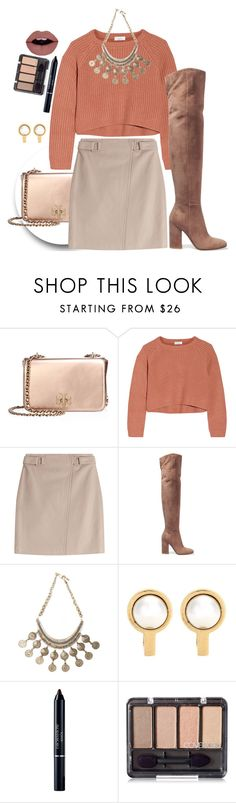 """""""Background Noise"""" by chelsofly on Polyvore featuring Tory Burch, Brunello Cucinelli, Steffen Schraut, Gianvito Rossi, Urbiana, Balenciaga and Christian Dior"""