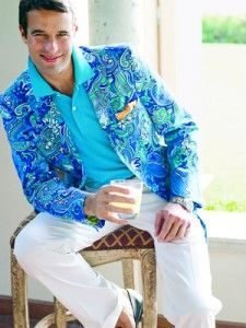 I would LOVE if my groom wore a Lilly jacket :)