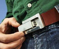 Concealed Belt Buckle Pipe