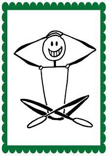 Όλα για το νηπιαγωγείο!: Μουσικά Αγάλματα Human Figure Sketches, Figure Sketching, Physical Education, Human Body, Physics, Preschool, Learning, Character, Kids Yoga Poses
