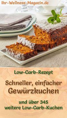 Low Carb Karotten Apfel Kuchen Ohne Mehl Und Zucker Low Carb