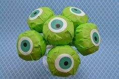 Mike Wazowski, Lollipops, Monsters University, Craft