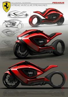 What do you think about this Ferrari concept bike?