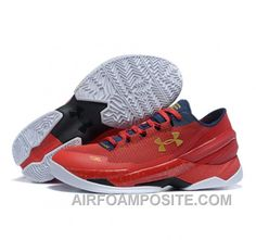 under armour curry 2 red grey
