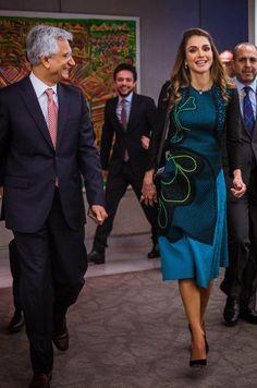 Queen Rania of Jordan in Washington, April 15, 2016