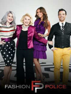 fashion police joan is hilarious Ukraine Cities, Joan Rivers, Famous Celebrities, Celebrity Outfits, Only Fashion, Reality Tv, Favorite Tv Shows, Cute Couples