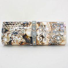Fashionista Elegance Magazine Clutch Bag 226046